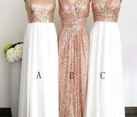 long bridesmaid dres..