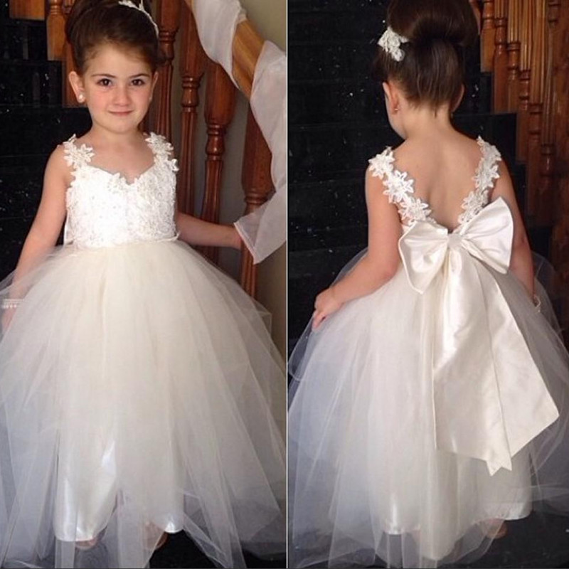 Flower Girl Dress Pretty Flower Girl Dress Lovely Girl Dress Long