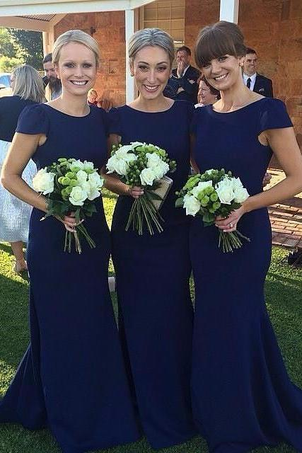 Long Sleeve Bridesmaid Dresses, Mermaid Long Bridesmaid Dress, Elegant Lace Bridesmaid Dress, Wedding Guest Dress, long bridesmaid dress, dress for wedding, wedding party dress, 20508Royal blue bridesmaid dress, simple short sleeve bridesmaid dress, cheap mermaid bridesmaid dreess, elegant simple bridesmaid dress, long bridesmaid dress, 15263