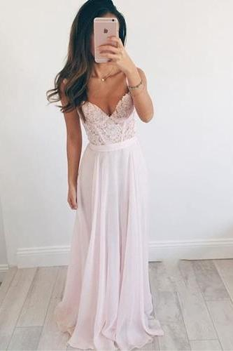 Simple pink prom dress, off shoulder lace prom dress, pretty cheap bridesmaid dress, popular junior prom dress, formal bridesmaid dress, long prom dress, long bridesmaid dress, 155246