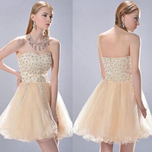 short homecoming dress, gorgeous homecoming dress, junior prom dress, charming homecoming dress, sparkly homecoming dress, PD15257