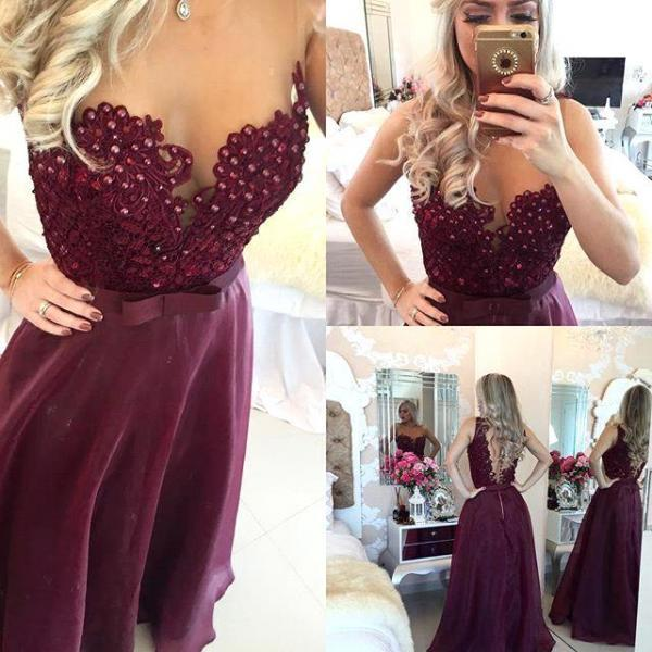 Long prom dress, cheap heart prom dress, a line prom dress, sleeveless prom dresses, floor-length prom dress, prom dress 2016, formal prom dress, elegant prom dress, PD125145